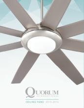 Quorum ceiling fans