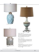 uttermost lamps 2016年欧美室内台灯及落地-1715970_灯饰设计杂志