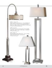 uttermost lamps 2016年欧美室内台灯及落地-1715977_灯饰设计杂志