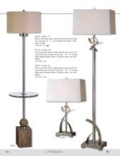 uttermost lamps 2016年欧美室内台灯及落地-1715979_灯饰设计杂志