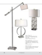 uttermost lamps 2017年欧美室内台灯及落地-1811635_灯饰设计杂志