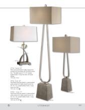 uttermost lamps 2017年欧美室内台灯及落地-1811643_灯饰设计杂志