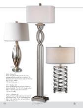 uttermost lamps 2017年欧美室内台灯及落地-1811649_灯饰设计杂志