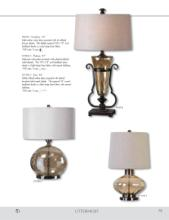 uttermost lamps 2017年欧美室内台灯及落地-1811842_灯饰设计杂志