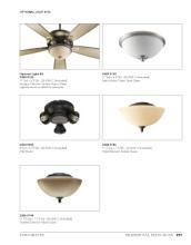 quorum 2017年欧美室内风扇灯设计素材。-1931491_灯饰设计杂志