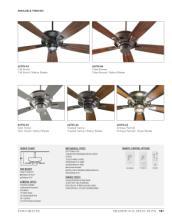 quorum 2017年欧美室内风扇灯设计素材。-1931493_灯饰设计杂志