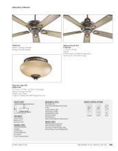 quorum 2017年欧美室内风扇灯设计素材。-1931497_灯饰设计杂志