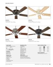quorum 2017年欧美室内风扇灯设计素材。-1931502_灯饰设计杂志