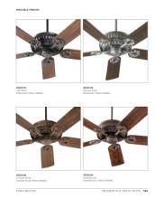 quorum 2017年欧美室内风扇灯设计素材。-1931528_灯饰设计杂志