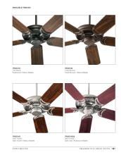 quorum 2017年欧美室内风扇灯设计素材。-1931581_灯饰设计杂志