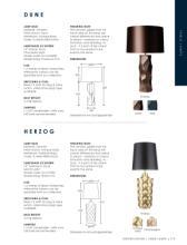 Heathfield 2018年欧美室内家居台灯及欧式-2185573_灯饰设计杂志