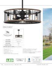 savoy 2018年欧美室内风扇灯设计画册。-2179516_灯饰设计杂志