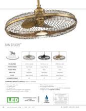 savoy 2018年欧美室内风扇灯设计画册。-2179518_灯饰设计杂志