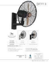 savoy 2018年欧美室内风扇灯设计画册。-2179528_灯饰设计杂志