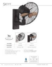 savoy 2018年欧美室内风扇灯设计画册。-2179527_灯饰设计杂志