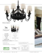 savoy 2018年欧美室内风扇灯设计画册。-2179674_灯饰设计杂志