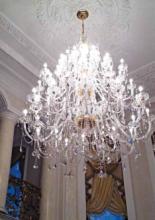 contract 2019年欧美室内水晶蜡烛吊灯设计-2506586_灯饰设计杂志
