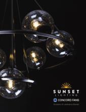 sunset _国外灯具设计