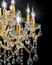 cristallo 2019年欧美室内水晶蜡烛吊灯设计-2342589_灯饰设计杂志