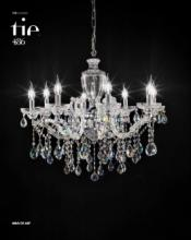 cristallo 2019年欧美室内水晶蜡烛吊灯设计-2342593_灯饰设计杂志