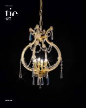 cristallo 2019年欧美室内水晶蜡烛吊灯设计-2342596_灯饰设计杂志