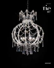 cristallo 2019年欧美室内水晶蜡烛吊灯设计-2342597_灯饰设计杂志