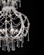 cristallo 2019年欧美室内水晶蜡烛吊灯设计-2342598_灯饰设计杂志
