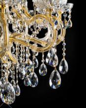 cristallo 2019年欧美室内水晶蜡烛吊灯设计-2342600_灯饰设计杂志