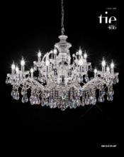 cristallo 2019年欧美室内水晶蜡烛吊灯设计-2342751_灯饰设计杂志