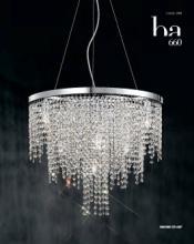 cristallo 2019年欧美室内水晶蜡烛吊灯设计-2342844_灯饰设计杂志