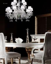 cristallo 2019年欧美室内水晶蜡烛吊灯设计-2342966_灯饰设计杂志