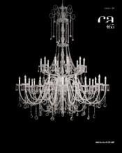 cristallo 2019年欧美室内水晶蜡烛吊灯设计-2342984_灯饰设计杂志