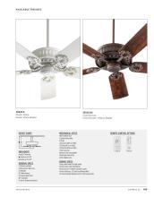 Quorum Fan 2021年欧美室内风扇灯设计目录-2764367_灯饰设计杂志