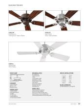 Quorum Fan 2021年欧美室内风扇灯设计目录-2764371_灯饰设计杂志