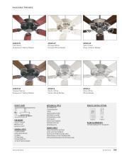 Quorum Fan 2021年欧美室内风扇灯设计目录-2764374_灯饰设计杂志