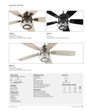 Quorum Fan 2021年欧美室内风扇灯设计目录-2764376_灯饰设计杂志