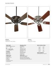Quorum Fan 2021年欧美室内风扇灯设计目录-2764684_灯饰设计杂志