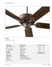 Quorum Fan 2021年欧美室内风扇灯设计目录-2764697_灯饰设计杂志