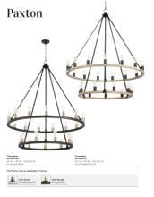 Quorum 2020年风扇灯及欧式灯设计画册-2677269_灯饰设计杂志