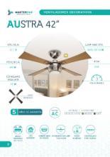 Masterfan 2020年欧美室内风扇灯设计目录-2683807_灯饰设计杂志