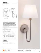 ayre Lighting 2020年欧美室内过道灯及壁灯-2701270_灯饰设计杂志