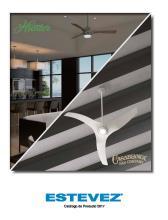 hunter 2020年欧美室内风扇灯设计画册。-2708233_灯饰设计杂志