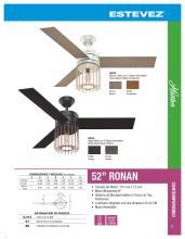 hunter 2020年欧美室内风扇灯设计画册。-2708243_灯饰设计杂志