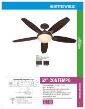 hunter 2020年欧美室内风扇灯设计画册。-2708245_灯饰设计杂志