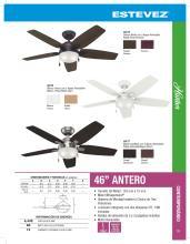 hunter 2020年欧美室内风扇灯设计画册。-2708253_灯饰设计杂志