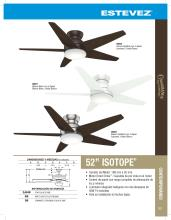 hunter 2020年欧美室内风扇灯设计画册。-2708327_灯饰设计杂志