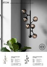 halo 2020年欧美室内现代创意简约吊灯设计-2703639_灯饰设计杂志