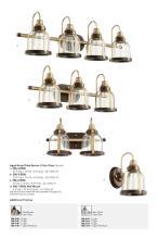 Quorum 2021年风扇灯及欧式灯设计画册-2767533_灯饰设计杂志
