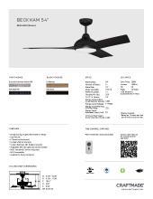 craftmade 2021年欧美室内风扇灯设计目录。-2813000_灯饰设计杂志
