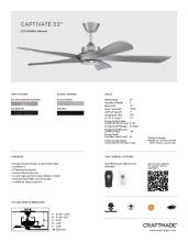 craftmade 2021年欧美室内风扇灯设计目录。-2813001_灯饰设计杂志